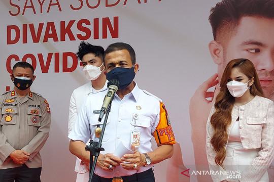 Wali Kota Jaktim apresiasi selebritas Guntur gelar vaksinasi COVID-19
