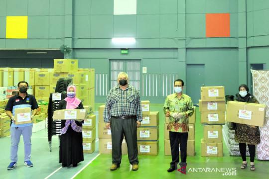 Bantu Brunei hadapi COVID, Komunitas Indonesia salurkan donasi