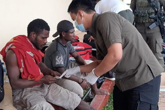"Satgas Binmas Noken beri ""trauma healing"" karyawan di Dekai"