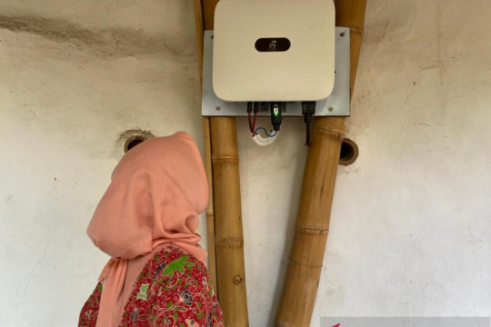 """Huawei hibahkan """"inverter"""" energi surya untuk Green School Bali"""