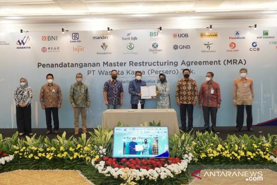 Tujuh perbankan kolaborasi selamatkan Waskita Karya