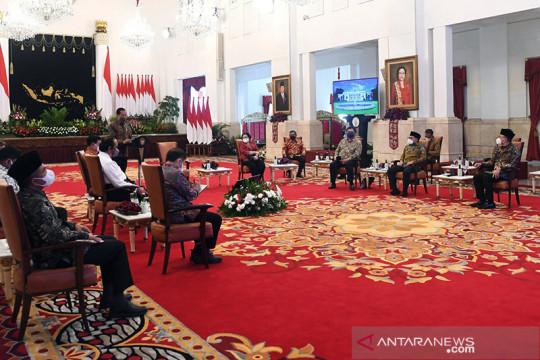 Kemarin, Presiden temui ketum parpol sampai isu amendemen
