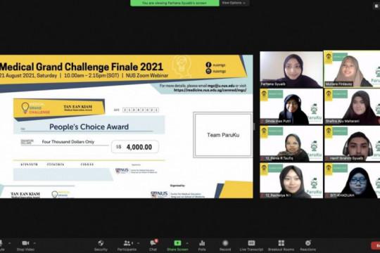 """Aplikasi """"Paruku"""" karya mahasiswa UI raih People's Choice Award"""