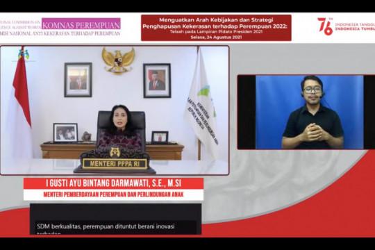 Menteri PPPA ajak perempuan adaptif dan berani hadapi tantangan