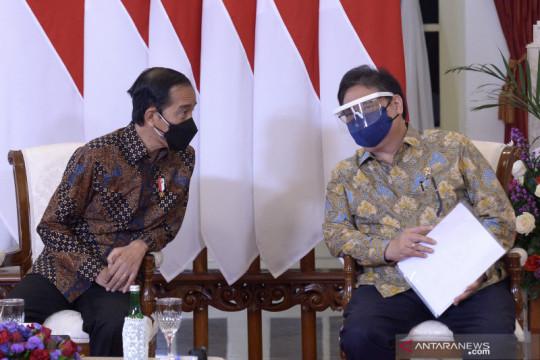 Presiden Jokowi : BOR RS secara nasional sudah turun ke 29 persen