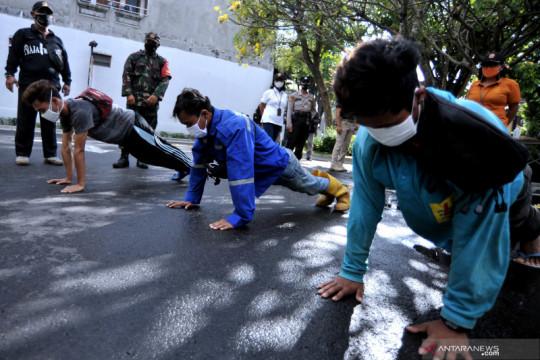 Operasi yustisi protokol kesehatan di Denpasar