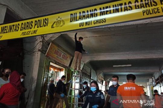 Polisi temukan tiga selongsong peluru di lokasi toko emas dirampok
