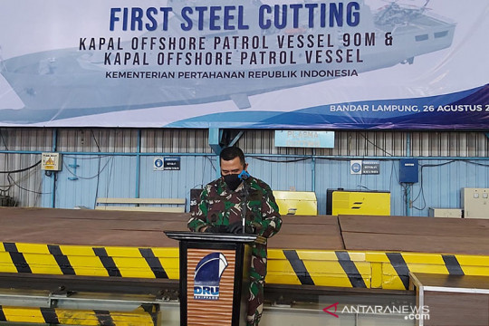 Kemhan pesan dua kapal patroli untuk perkuat alutsista TNI AL