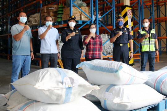 Bea Cukai Bali fasilitasi ekspor satu ton kakao ke Belgia