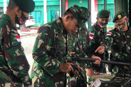 Prajurit Kostrad di perbatasan negara harus terus berprestasi