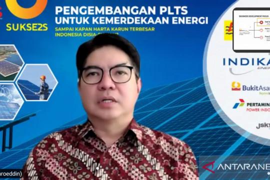 Bukit Asam siapkan lahan untuk tiga proyek PLTS 300 MW