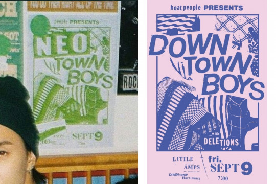 Desainer poster NCT 127 minta maaf usai plagiat poster Downtown Boys