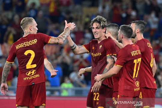 Roma mantapkan agregat atas Trabzonspor dalam playoff Liga Conference