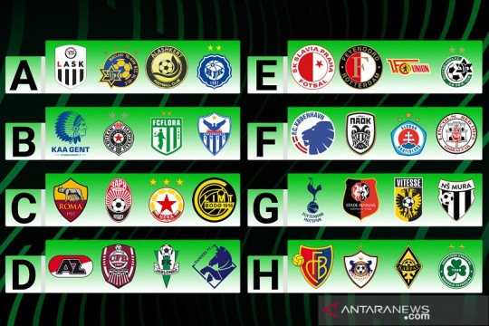 Hasil undian grup Liga Conference: Tottenham dan Roma berbeda nasib