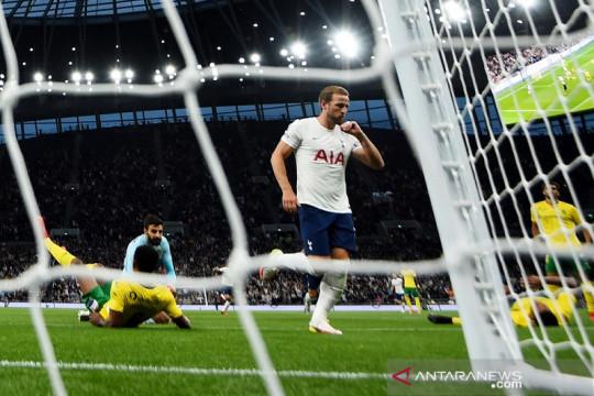 Dua gol Harry Kane antar Tottenham ke fase grup Liga Conference