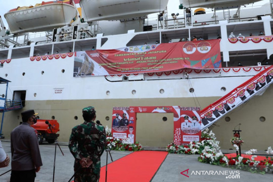 Panglima TNI puji kesiapan KM Tidar tampung pasien isoter di Jayapura