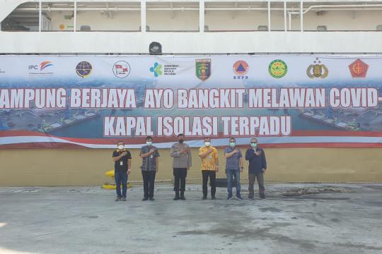 Kabid Humas Polda Lampung tinjau kesiapan KM Lawit untuk isoter