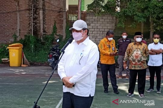 Airlangga dorong Pemprov Sulawesi Tengah gencarkan vaksinasi