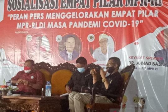 Wakil Ketua MPR: Informasi benar tentang COVID-19 tegakkan Empat Pilar