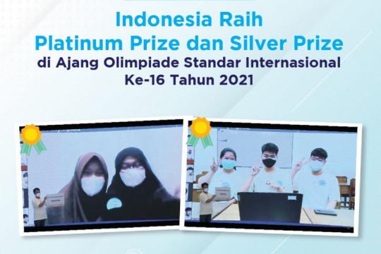 Indonesia raih Platinum Prize-Silver Prize di olimpiade internasional