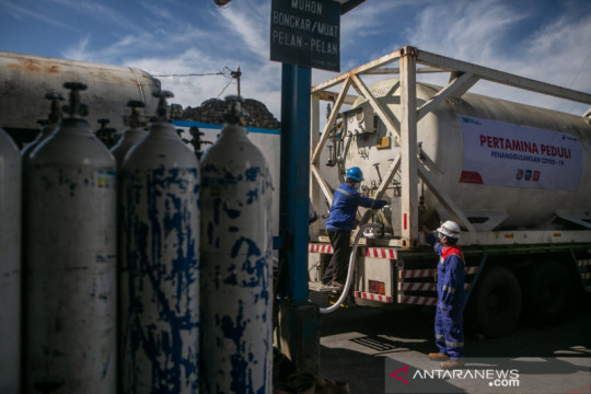 Pandemi, Pertamina salurkan 4.855 ton oksigen medis ke 504 rumah sakit