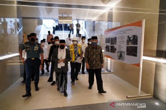 Wapres: Terowongan Silaturahmi Istiqlal-Katedral bangun kerukunan umat