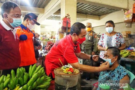 """Dukung pemulihan ekonomi, maskot """"Si-Enda"""" bagi masker di pasar rakyat"""