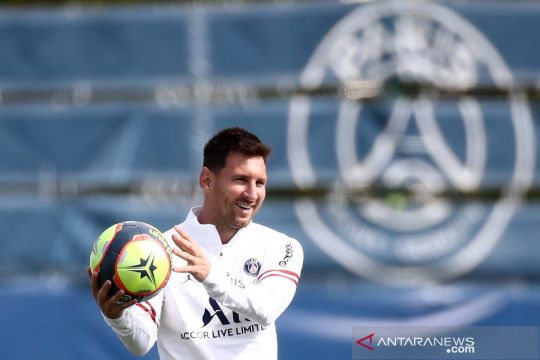 Pochettino belum putuskan keikutsertaan Messi tandang ke Reims