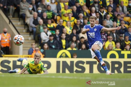 Leicester benamkan Norwich, enam tim lain berbagi poin