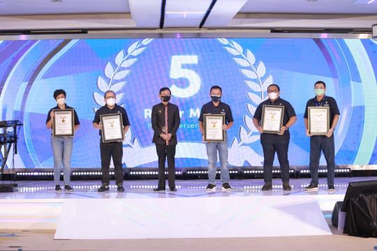 PT PP raih lima penghargaan MURI