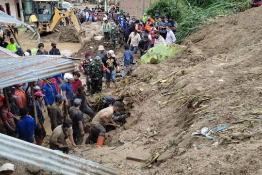 BPBD Karo: Korban longsor yang meninggal dunia sudah ditemukan semua