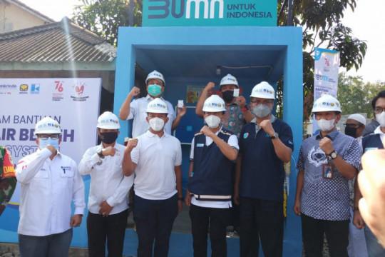 PT Jamkrindo kolaborasi sediakan air bersih senilai Rp1,45 miliar