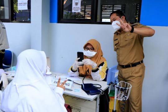 Dinkes targetkan 12.000 pelajar Tangerang divaksin terkait PTM