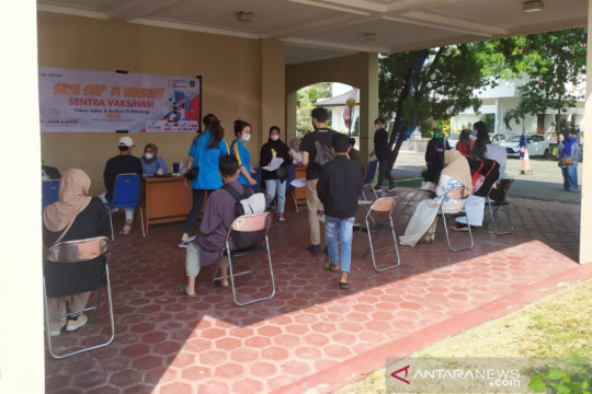 Kodam Siliwangi-Utama gelar vaksinasi warga usia sekolah siapkan PTM