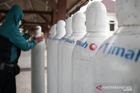 PT Timah serahkan enam ton oksigen medis bantu RS di Pulau Bangka