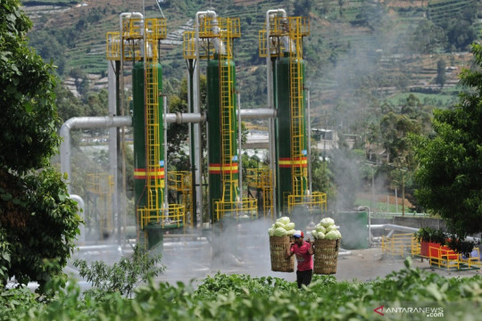 Indonesia-Amerika Serikat perkuat kerja sama bilateral sektor energi