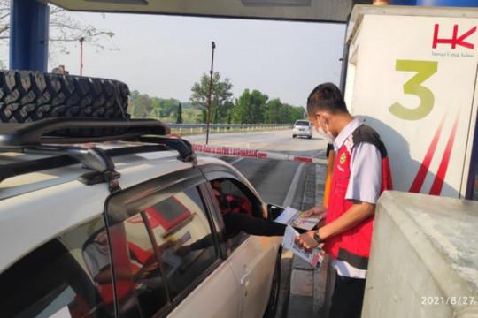 HK sosialisasikan tarif baru di gerbang tol Bakauheni Selatan