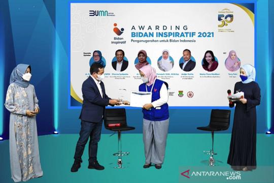 Tekan stunting, Kimia Farma apresiasi 6 pemenang Bidan Inspiratif 2021