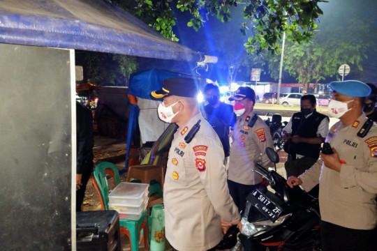 Polresta Tangerang melaksanakan operasi pendisiplinan prokes COVID-19