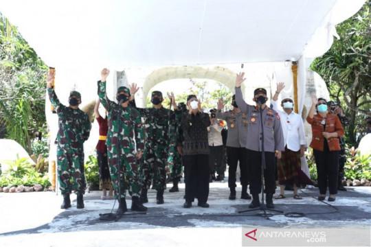 Panglima TNI tinjau isolasi terpusat COVID-19 di Bali