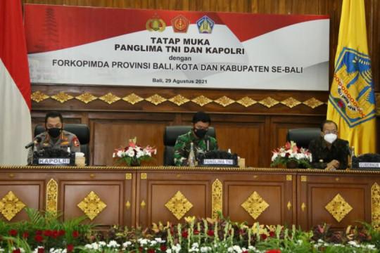 Kapolri minta penyekatan antarwilayah di Bali dimaksimalkan