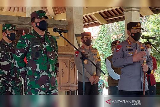 Panglima TNI dan Kapolri tinjau fasilitas isolasi terpusat di Denpasar