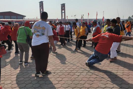 Benteng Kuto Besak masih sebagai pajanganKota Palembang
