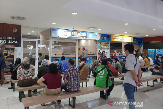 Senin, ini gerai Samsat saat PPKM di Jakarta