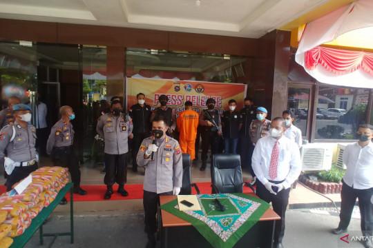 Polisi gagalkan 28 kilogram ganja masuk Padang