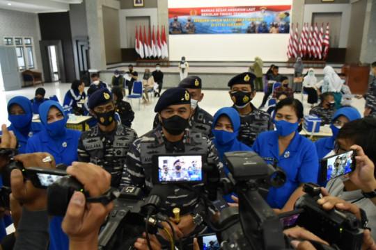 TNI AL selenggarakan serbuan vaksinasi COVID-19 di STTAL