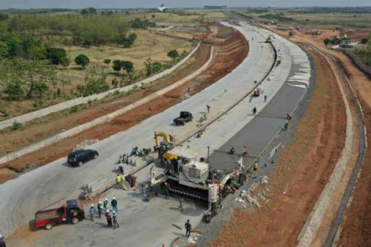 Pembangunan tol akses Bandara Kertajati capai 95 persen