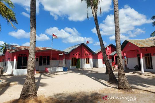 Marinir TNI AL pelopori Kampung Merah Putih di ujung selatan Indonesia