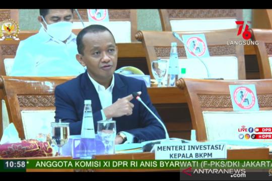 Kejar investasi Rp1.200 triliun, Menteri Bahlil usul tambah anggaran