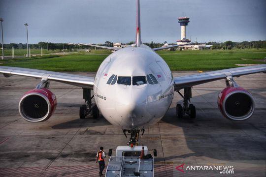 Pesawat Batik Air mendarat darurat di Bandara Kualanamu Medan